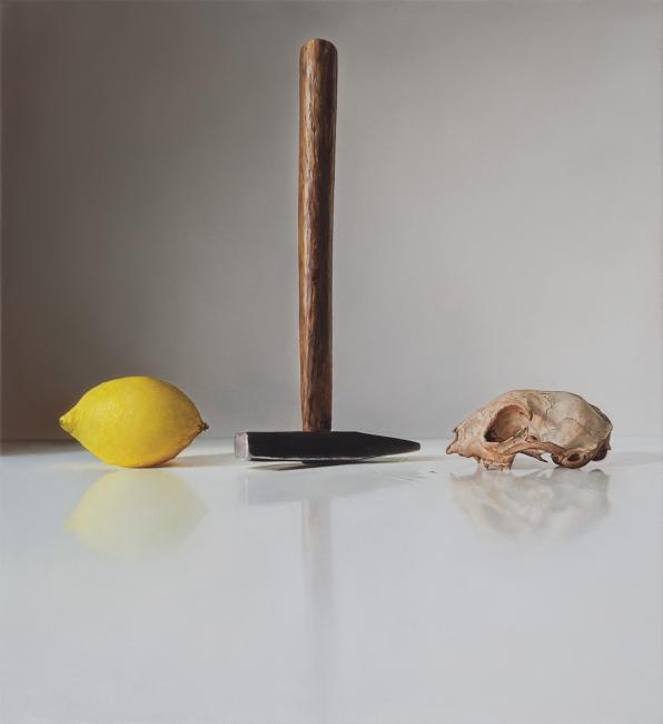 Zitrone, Hammer, Schädel